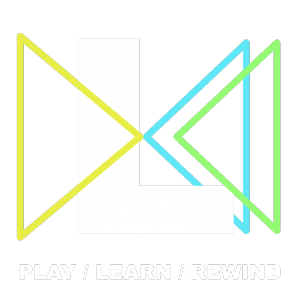 Play Learn Rewind Logo